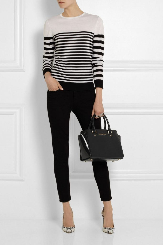 Хит сезона 2020: Женская сумочка Michael Kors Selma Medium Black