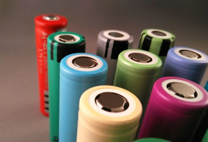 Акумулятори для Електрон сигарет