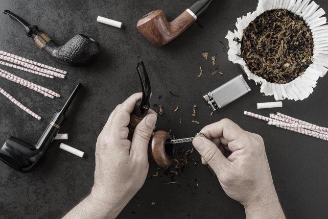аксесуари для курильних трубок