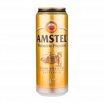 Amstel - краще світле пиво в Росії