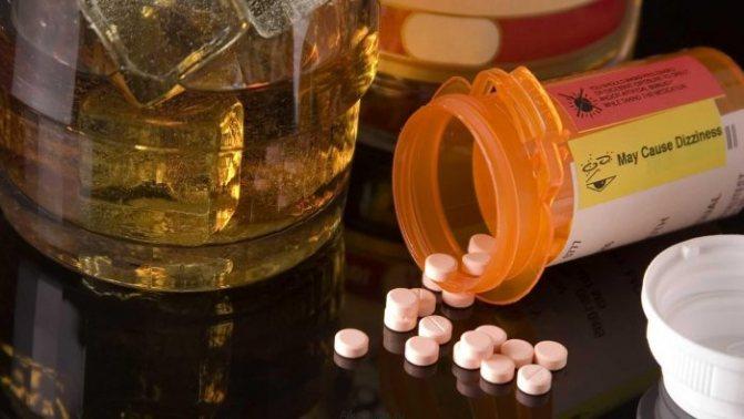антибіотики и алкоголь