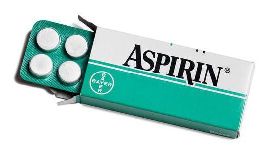 аспірин від чого допомагає