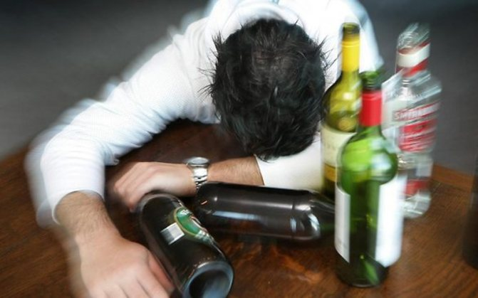 Безсоння від алкоголю сон