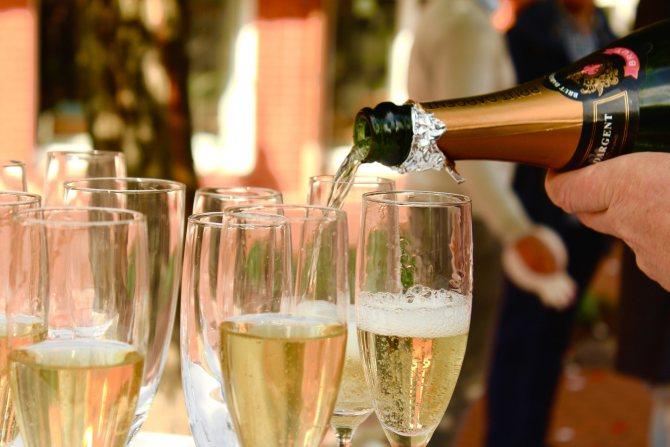 Келих з шампанського