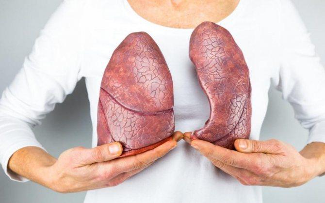 біль в легенях