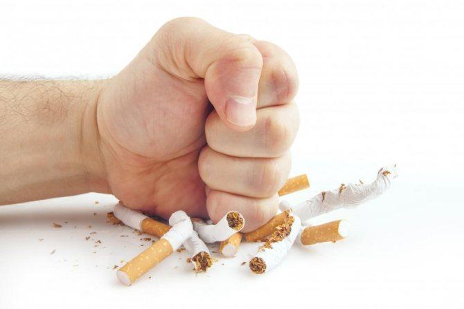 Кинувши палити болить Грудна клітка