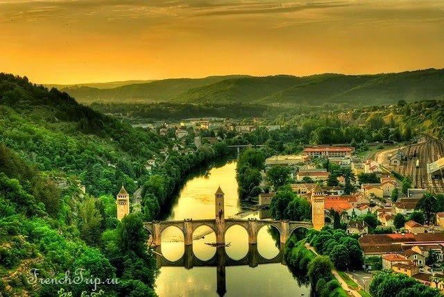 Cahors (Каор), регіон Міді-Піренеї, Франція