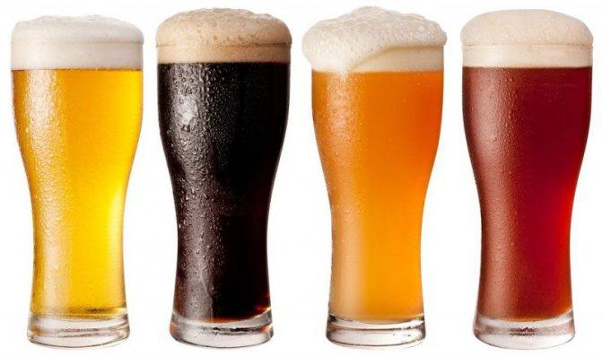кольору пива