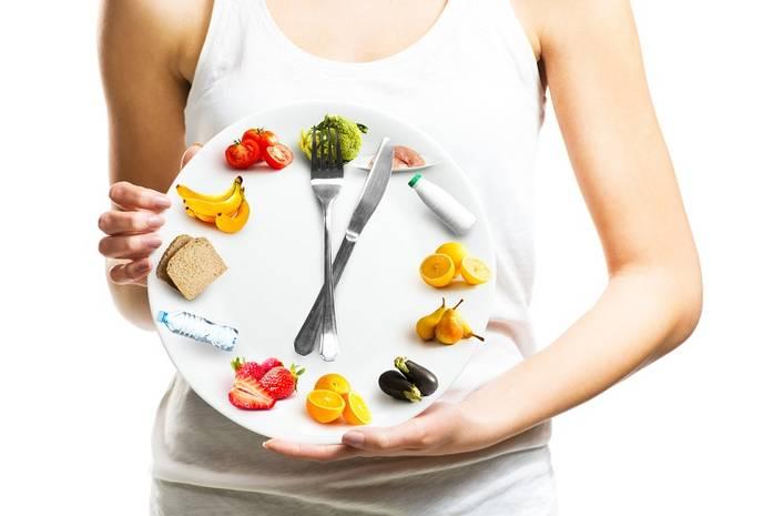 Дневной рацион продуктов и блюд для похудения