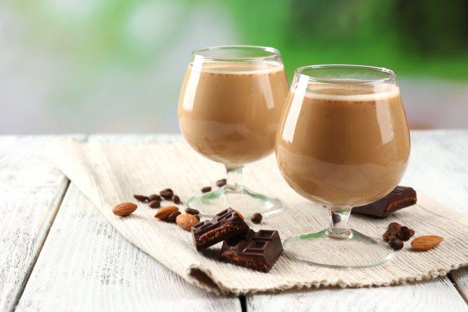 Домашній шоколадний лікер фото