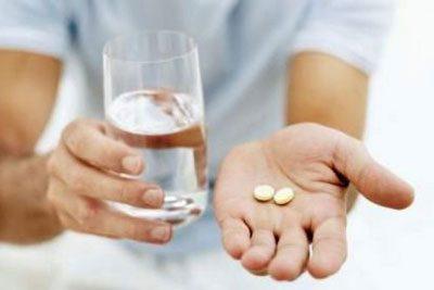 Дві таблетки ліки