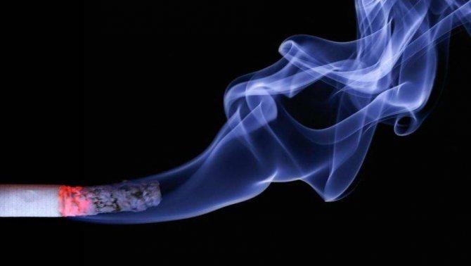 дим сигарети