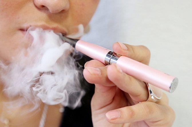 електронна сигарета: користь і шкода