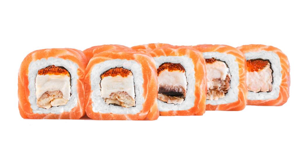 Суши Филадельфия Гурман (от поваров sushi-master.ua – г. Днепр)