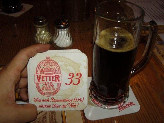 «Феттер 33» - дуже міцний зростання пива