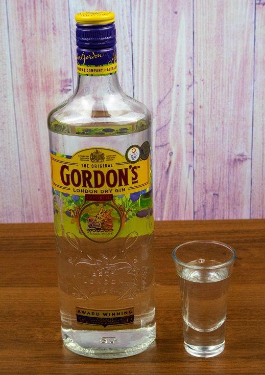 фото пляшки джина Гордонс