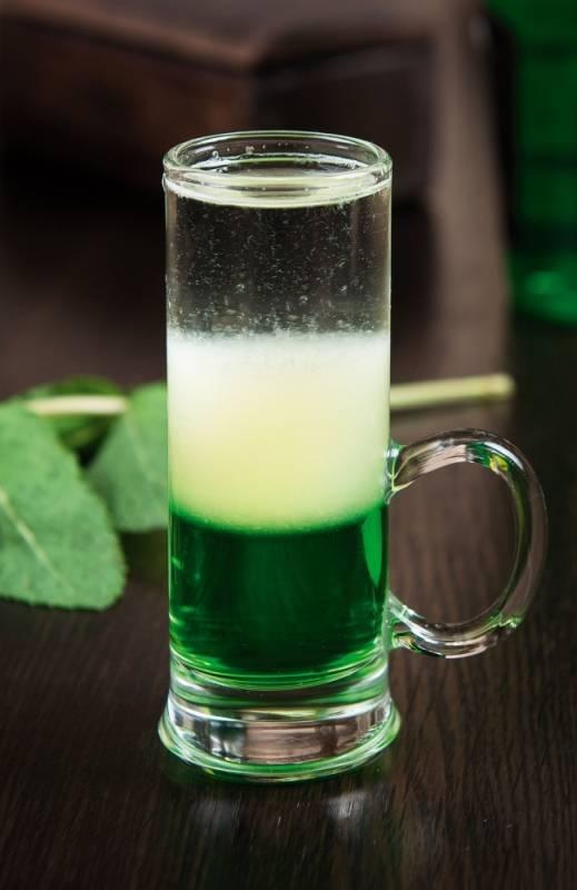 фото коктейлю зелений мексиканець з лікером Пізан Амбон