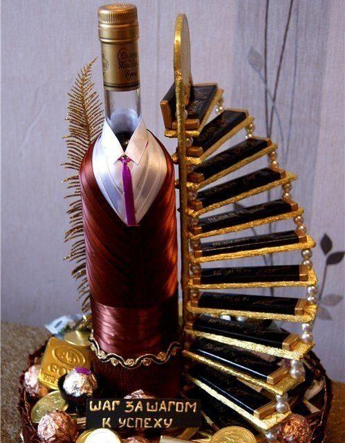 фото кошики з алкоголем в подарунок