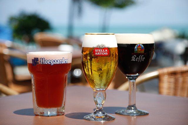 фото трьох кращих марок бельгійського пива