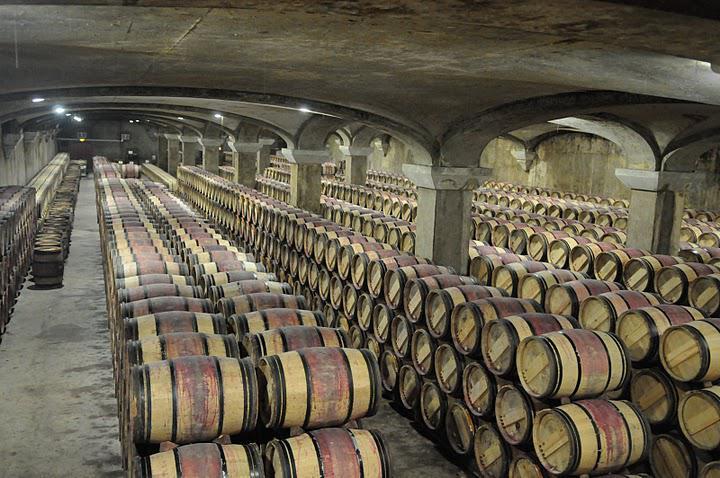 фото витримки бордосськіх вин в бочках