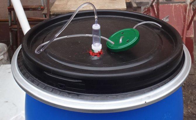 Гідрозатвор для бродіння 4 способи в Домашніх условиях