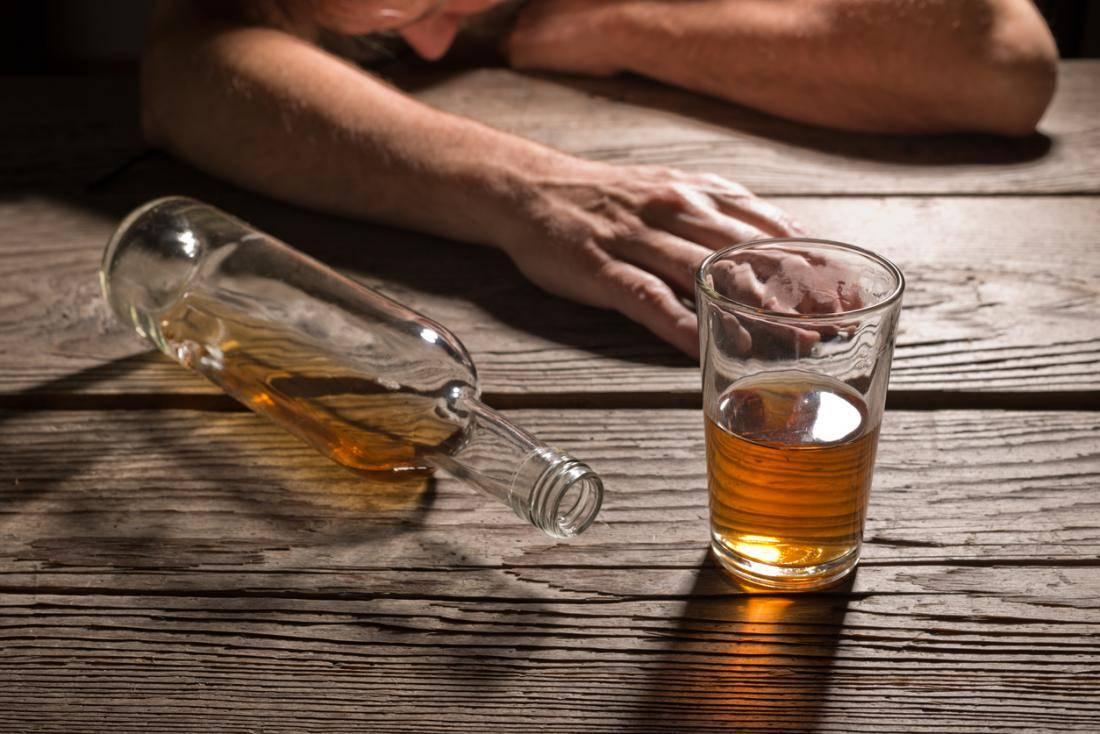 Отправление алкоголем низкого качества