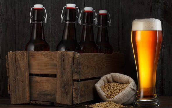Ілюстрація пляшки для пива