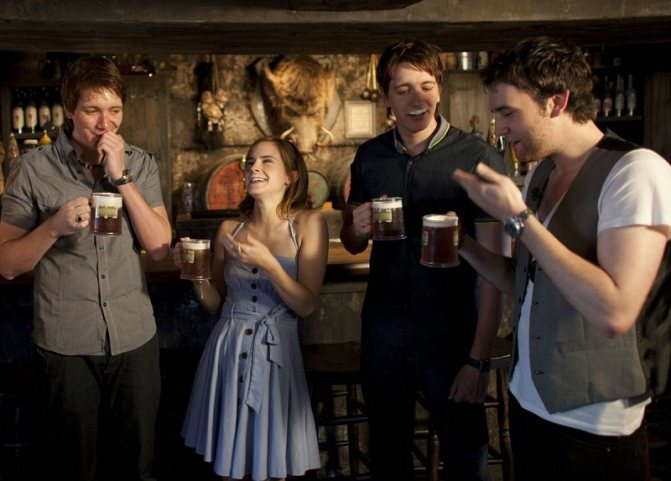 імбирне пиво з Гаррі Поттера