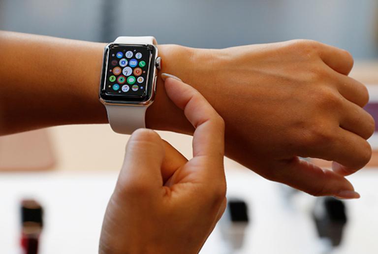Стильный ремешок для Apple Watch купленный в интернет-магазине iShtuki