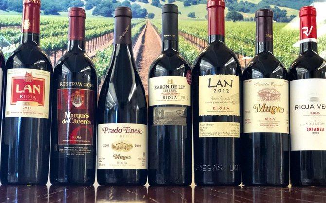 Іспанські вина, фото