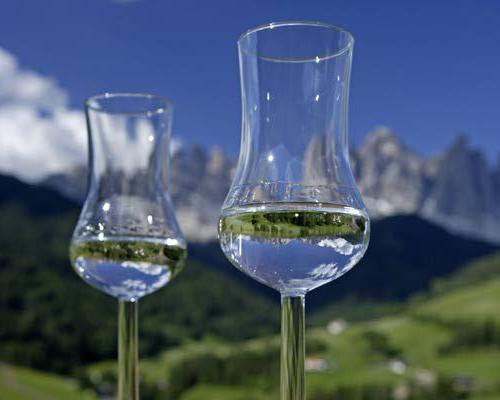італійська виноградна горілка