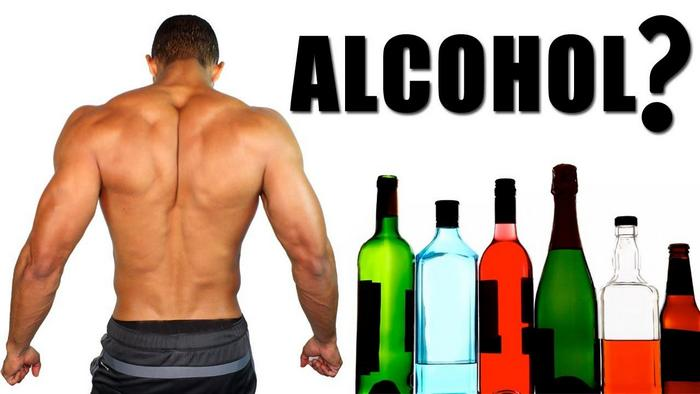 як алкоголь впливає на зростання м'язів