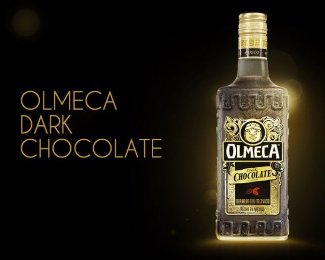 Як нужно пити и закушуваті текілу olmeka шоколадну?