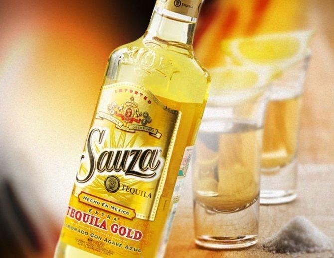 Як нужно пити и закушуваті текілу sauza gold?