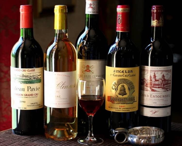 Як подавати бордо вино