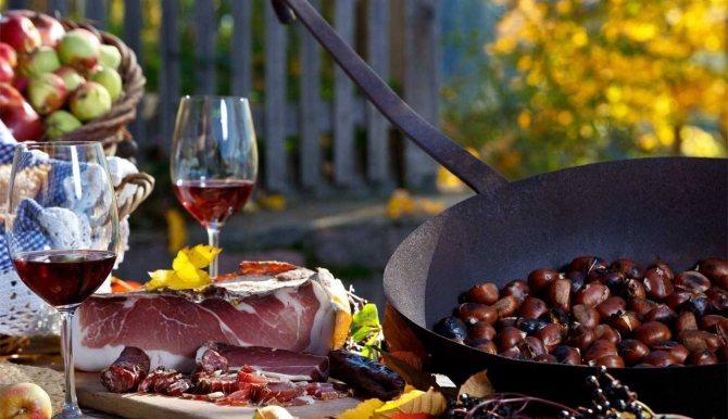 як правильно и чім закушуваті вино Новелло