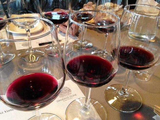 як правильно пити грузинське сухе вино сапераві фото
