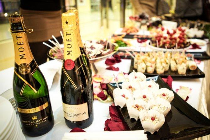 Як правильно пити шампанське