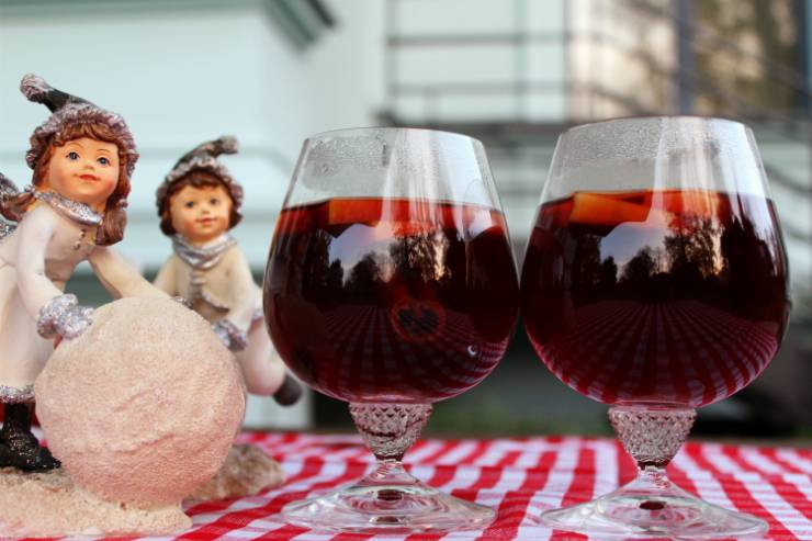 Як пріготуваті грог з червоного вина