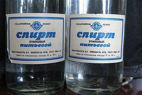 Як зробити горілку зі спирту в Домашніх