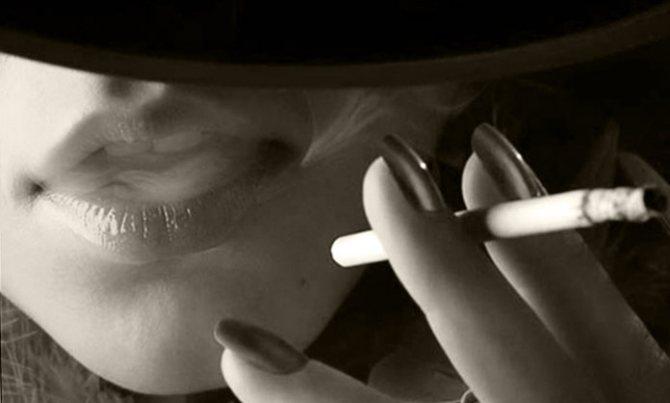 як сигарети впливають на організм жінки