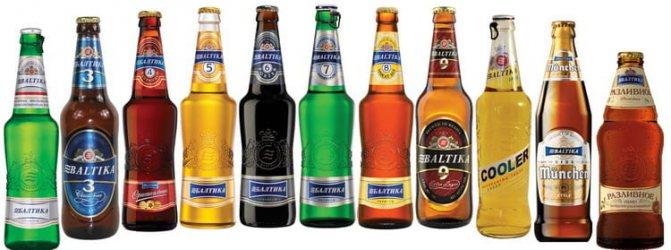 як вибрати асортимент пива Балтика