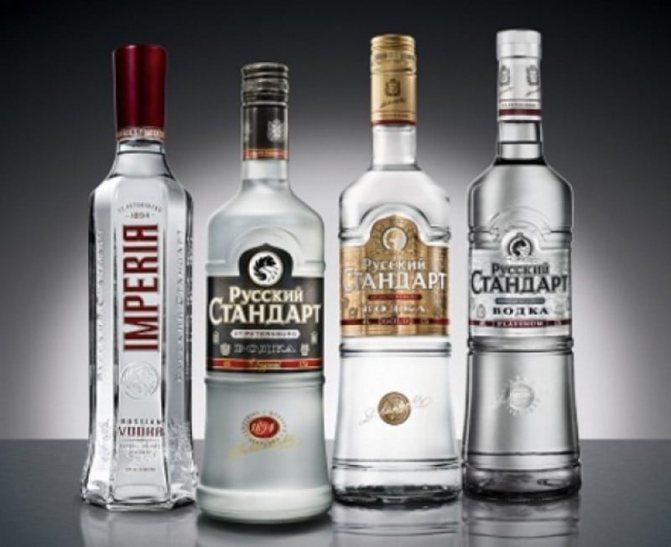 Який спирт використовують в горілці