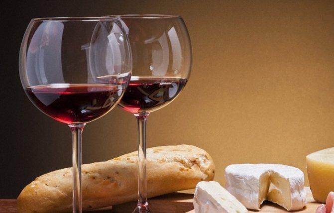 Калорійність червоного сухого вина