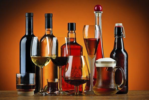 Калорійність спиртних напоїв
