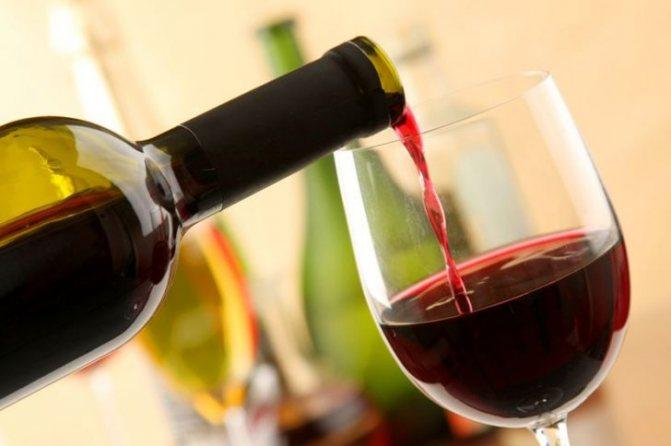 калорійність вина