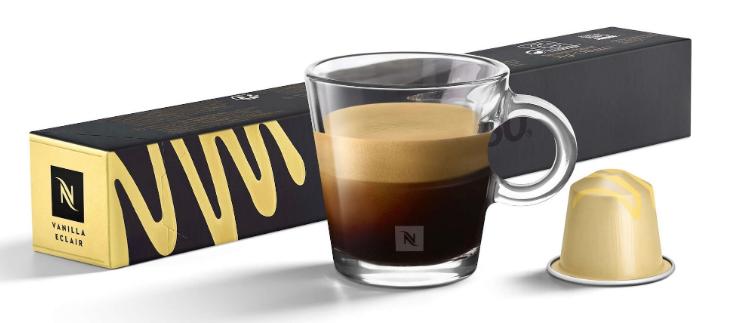 Якісна кава в капсулах Nespresso Vanilla Eclair