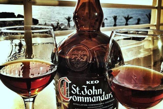 Кіпрське вино Коммандарія, фото