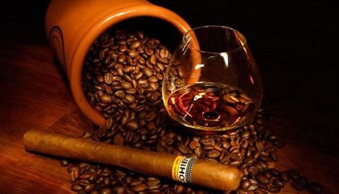 Кава з алкоголем, фото