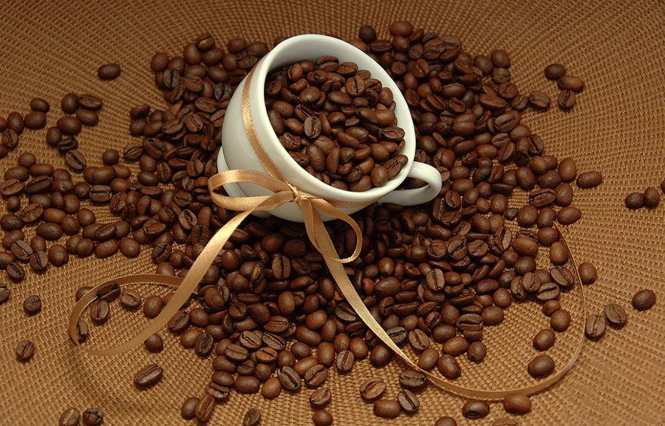 Качественные зерна кофе